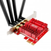 ZTC Wireless Adapter Dual Band AC1900 Desktop Network Card PCIe Long Range WiFi Great for Gaming and Streaming Model ZTC-WPCIE4-RD